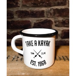 "Tasse vintage, Collection ""Take a Kayak"""