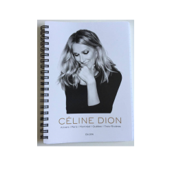 Céline Dion Notebook - Official 2016 Tour